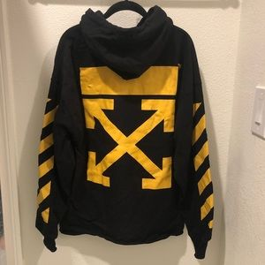 Off-White Shirts - Off White Arrows Hoodie